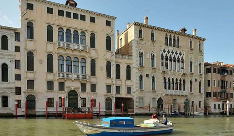 Palazzi_Querini_Dubois_e_Palazzo_Bernardo_Canal_Grande_Venezia
