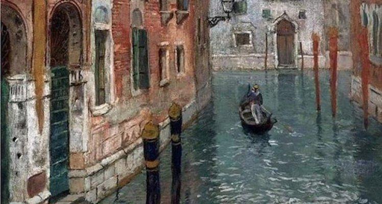 1FRITS-THAULOW-1847-1906-Veduta-di-Venezia-Anno-1894-copia